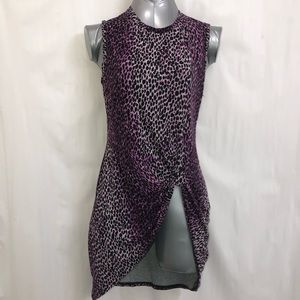 Rachel Roy cheetah print tunic